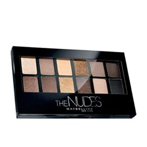 Maybelline New York The Nudes Palette Eyeshadow Rs 450 amazon dealnloot