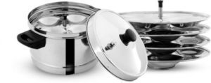 Pigeon Stainless Steel 4 Plates Induction Standard Rs 650 flipkart dealnloot