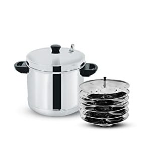 Pigeon Stainless Steel 6 Plates Idly Maker Rs 789 amazon dealnloot