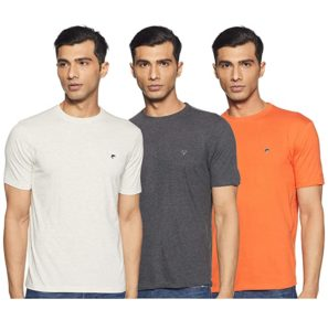 Ruggers by Unlimited Men s Solid Regular Rs 293 amazon dealnloot