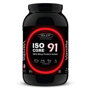 Sinew Nutrition Isocore 91 Whey Protein Isolate Rs 1165 amazon dealnloot