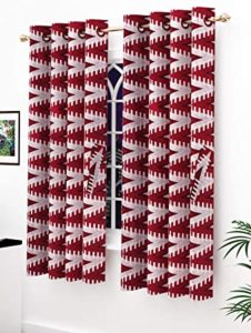 Story Home Modern Polyester Abstract Pattern Eyelet Rs 199 amazon dealnloot