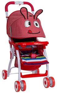 Toyzone Giggling Baby Stroller Red Rs 1165 amazon dealnloot