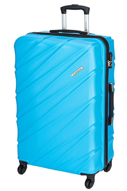 United Colors of Benetton Roadster Hardcase Luggage ABS 77 cms Sky Blue Hardsided Check-in Luggage