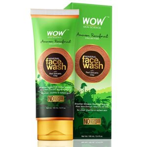 WOW Amazon Rainforest Collection Mineral Face Wash Rs 120 amazon dealnloot