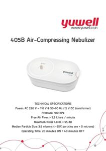 Yuwell 405B Compact Compressor Nebulizer White Rs 869 amazon dealnloot
