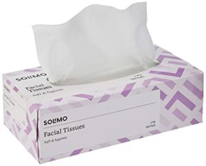Amazon Brand Solimo 2ply Facial Tissues_Soft hygienic Rs 59 amazon dealnloot