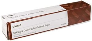 Amazon Brand Solimo Baking Paper Cooking Parchment Rs 78 amazon dealnloot