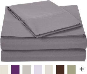 Amazon- Buy AmazonBasics Microfiber Sheet Set