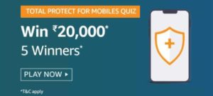 Amazon-Total-Protect-For-Mobiles-Quiz-Answers