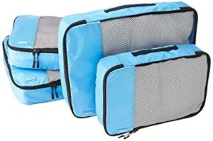 AmazonBasics Packing Cubes Travel Pouch Travel Organizer Rs 641 amazon dealnloot