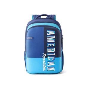 American Tourister Crone 34 Ltrs Blue Casual Rs 749 amazon dealnloot