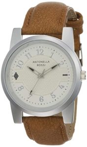 Antonella Rossi Analog White Dial Unisex s Rs 149 amazon dealnloot