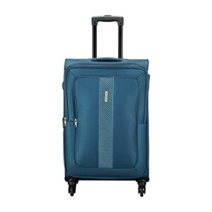 Aristocrat Polyester 41 5 cms Blue Softsided Rs 1827 amazon dealnloot