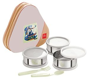 Cello Eat N Eat 3 Container Lunch Rs 237 amazon dealnloot