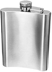 DFS Premium Stainless Steel Hip Flask Wine Rs 199 amazon dealnloot