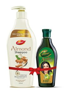 Dabur Almond Shampoo With Almond Vita Complex Rs 101 amazon dealnloot