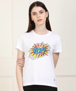Denizen From Levi s Graphic Print Women Rs 139 flipkart dealnloot