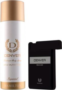 Denver Imperial Deo Black Code Pocket Perfume Rs 188 flipkart dealnloot