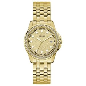Guess Analog Gold Dial Women s Watch Rs 5805 amazon dealnloot