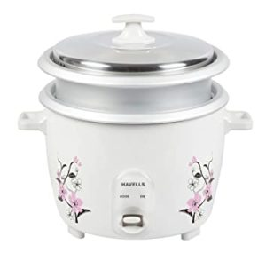 Havells GHCRCCGW070 1 8 Litre Electric Cooker Rs 1537 amazon dealnloot