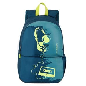 Lavie Sport 24 Ltrs Teal Casual Backpack Rs 587 amazon dealnloot