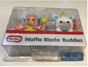 Little Tikes Waffle Blocks Double Figure Pack- Fairy/Unicorn, Toys for Kids, 1 Year & Above, Activity, Kids Learning Toys