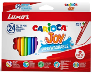 Luxor Carioca : Joy superwashble ink (Assorted color, 24 Pieces)
