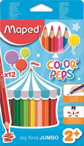 Maped Color Peps Color Jumbo Size Pencil Rs 144 amazon dealnloot