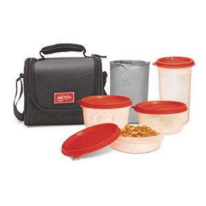 Milton Full Meal Combo 3 Containers Lunch Rs 350 amazon dealnloot