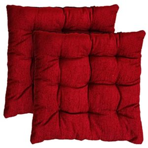 Miracle Home Decor Square Chair Pad Seat Rs 95 amazon dealnloot
