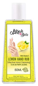 Mirah Belle Lemon Hand Rub Sanitizer With Rs 12 amazon dealnloot