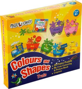 Miss Chief Colours Shapes Train Puzzles with Rs 120 flipkart dealnloot