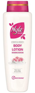 Nyle Hydrate and Smooth Body Lotion - Rose, 400 m