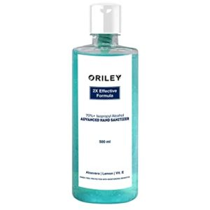 Oriley Waterless Hand Sanitizer 70 Isopropyl Alcohol Rs 117 amazon dealnloot