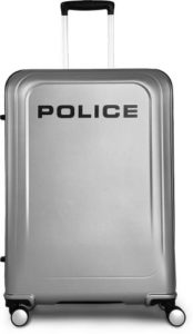 Police Large Check in Luggage 75 cm Rs 2719 flipkart dealnloot