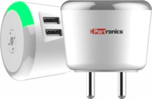 Portronics ADAPTO 464 Charger with Time Control Rs 424 flipkart dealnloot