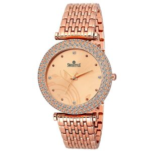 SWISSTYLE Analogue Women s Girls Watch Copper Rs 99 amazon dealnloot