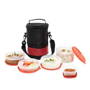 SimpArte Flexi Lid Lunch Box with Insulated Rs 239 amazon dealnloot