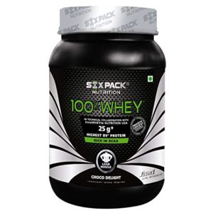 Six Pack Nutrition 100 Whey Protein Powder Rs 1033 amazon dealnloot
