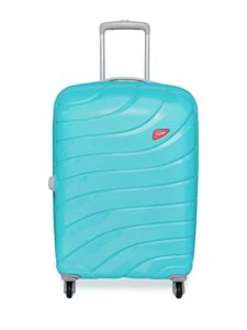 Skybags Polycarbonate 71 cms Blue Hardsided Check Rs 2499 amazon dealnloot