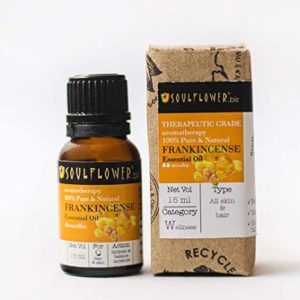 Soulflower Frankincense Essential Oil 15 ml Rs 379 amazon dealnloot