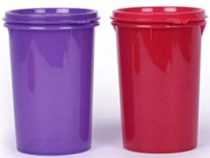 Tupperware Large Liquid Tight Containers 1L 2pc