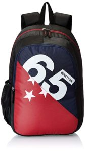 United Colors of Benetton 46 cms Navy Rs 679 amazon dealnloot