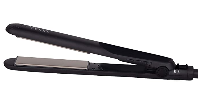 VEGA Keratin Glow Hair Straightener (VHSH-21), Black