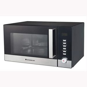 Wonderchef Roland 30 Litre Microwave Black Rs 13033 amazon dealnloot