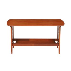 Woodness Odron Solid Wood Coffee Table Dirty Rs 1839 amazon dealnloot