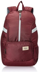 American Tourister Copa 22 Ltrs Red Casual Rs 399 amazon dealnloot