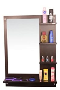 Anikaa Wood Wall Mirror 64 x 13 Rs 2669 amazon dealnloot