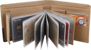 Billion Men Beige Artificial Leather Wallet 10 Rs 149 flipkart dealnloot